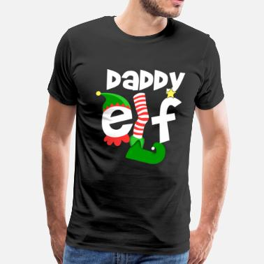 Daddy Elf Daddy Elf - Men's Premium T-Shirt