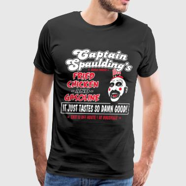 Horror Film Funny captain spaulding for president - Men's Premium T-Shirt