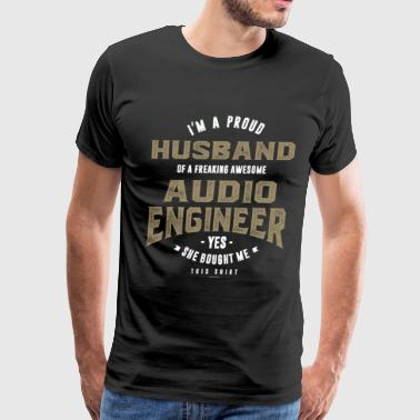 Audio Engineer - Men's Premium T-Shirt