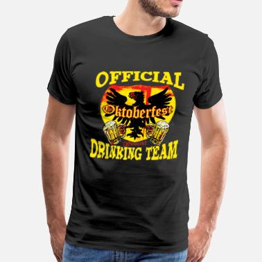 Prost Oktoberfest Drinking Team - Men's Premium T-Shirt