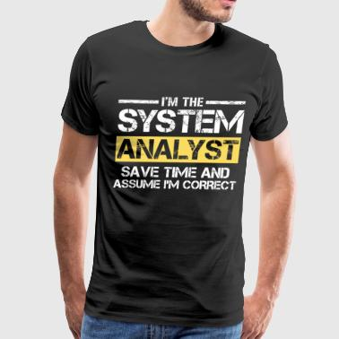 System Analyst - Men's Premium T-Shirt