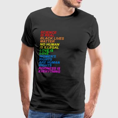 LGBT Science is real gift - Men's Premium T-Shirt