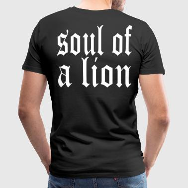 Warrior Soul of a Lion - Men's Premium T-Shirt