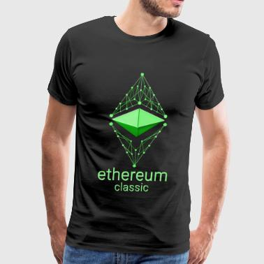 Ethereum Classic Made of Green - Men's Premium T-Shirt