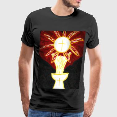 Eucharistic Love - Men's Premium T-Shirt