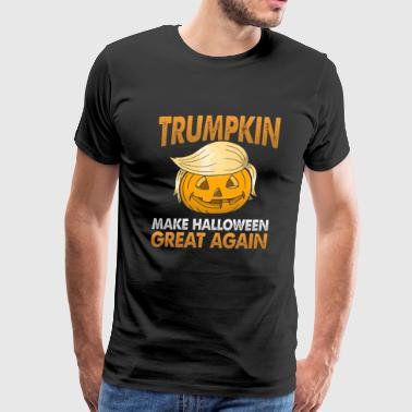 Make Halloween Great Again Trumpkin Make Halloween Great Again - Men's Premium T-Shirt