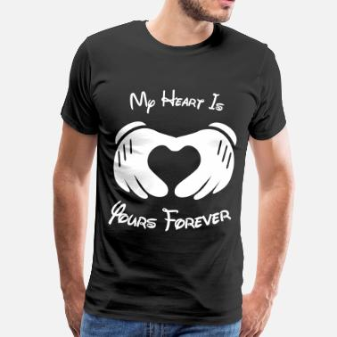 Forever Couple my_heart_is_yours_forever - Men's Premium T-Shirt