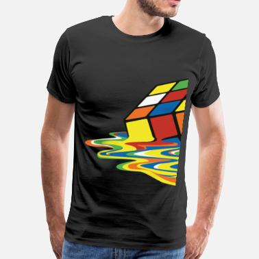 Melt meltingcube - Men's Premium T-Shirt