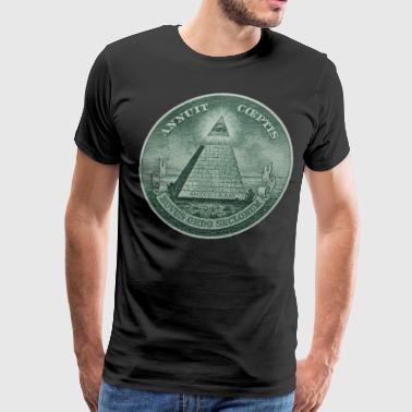 Illuminati Shirt - Men's Premium T-Shirt