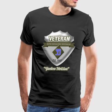 Veteran 26th Infantry Division - Men's Premium T-Shirt