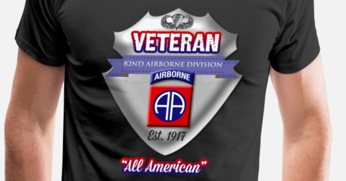 f8c441aab Veteran 82nd Airborne Division Men s Premium T-Shirt