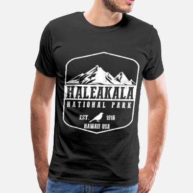 Crater Lake National Park Haleakala National Park - Men's Premium T-Shirt