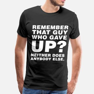Jason Genova Remember that guy? - Men's Premium T-Shirt