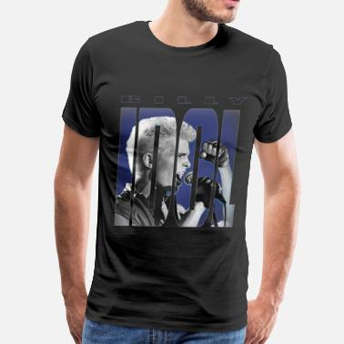 Idol IDOL Billy Idol T-Shirts - Men's Premium T-Shirt