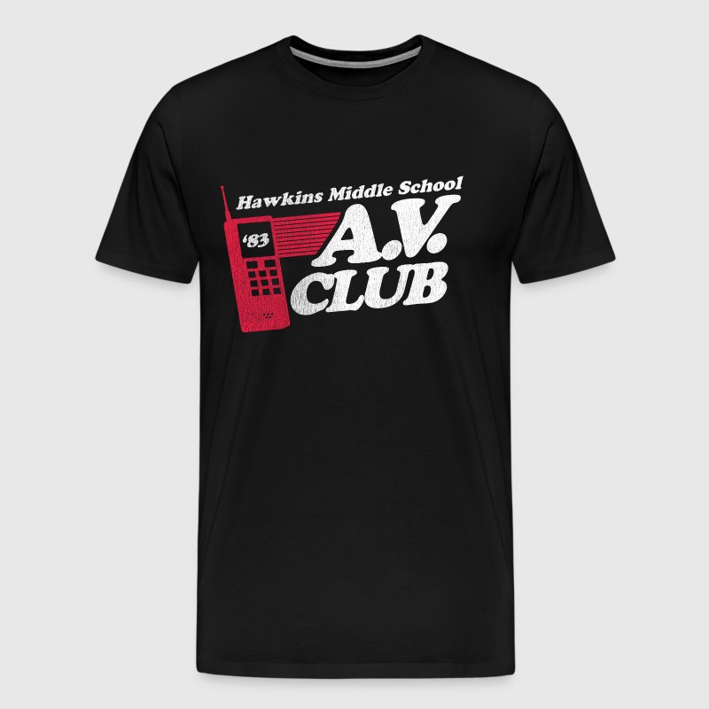 Hawkins A.V. Club - Men's Premium T-Shirt