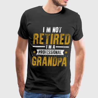 Retired Grandpa Retirement Grandpa - Men's Premium T-Shirt