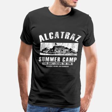 Ward alcatraz_summercamp_t_shirt - Men's Premium T-Shirt