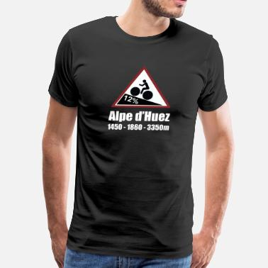 Mamil Alpe d'Huez Cycling Sign - Men's Premium T-Shirt
