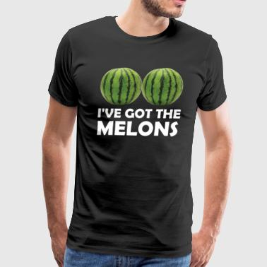 I Have Got the Melons Graphic Funny T-shirt - Men's Premium T-Shirt