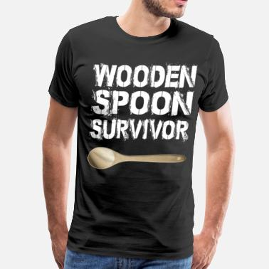 Spoon Nerd wooden spoon survivor - Men's Premium T-Shirt