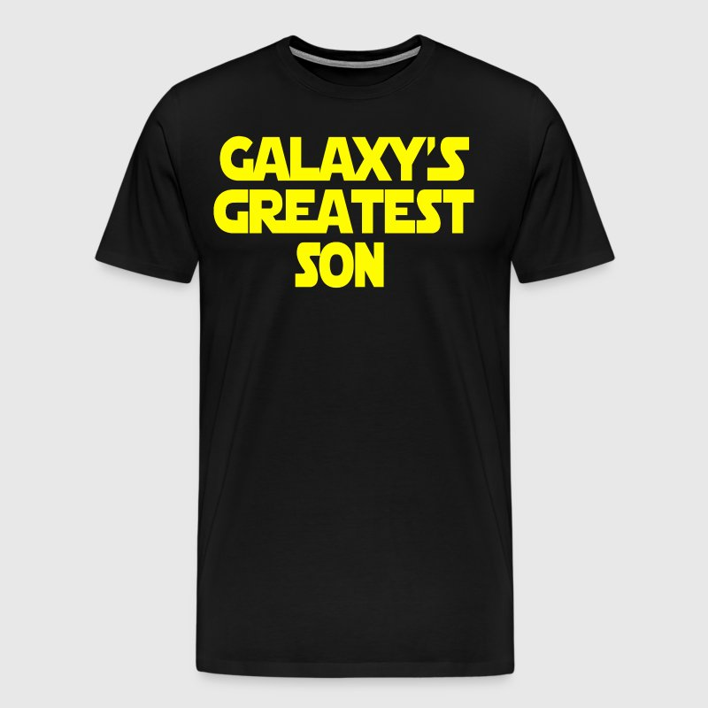 Galaxy's Greatest Son - Men's Premium T-Shirt