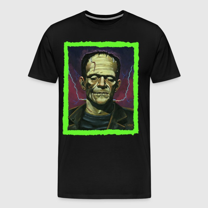 Frankenstein face - Men's Premium T-Shirt