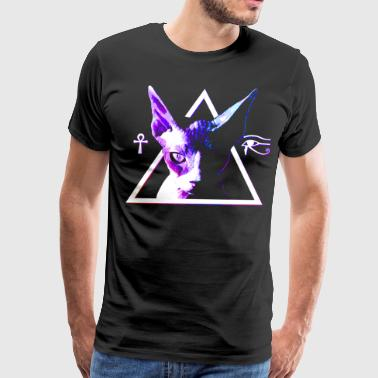 Egyptian  Cat - Men's Premium T-Shirt