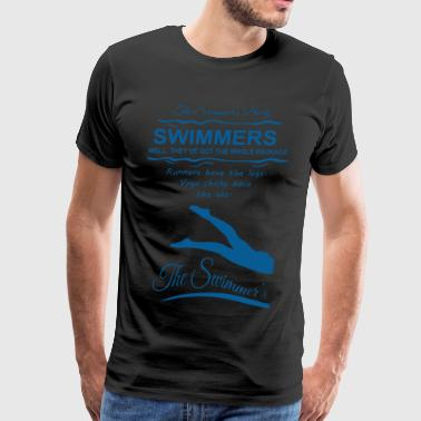 The Swimmer's Body T-shirt - Men's Premium T-Shirt