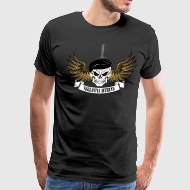 Special Forces Afghanistan Custom Logo - Men's Premium T-Shirt