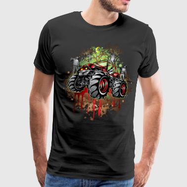 Mudding Halloween Jeep - Men's Premium T-Shirt