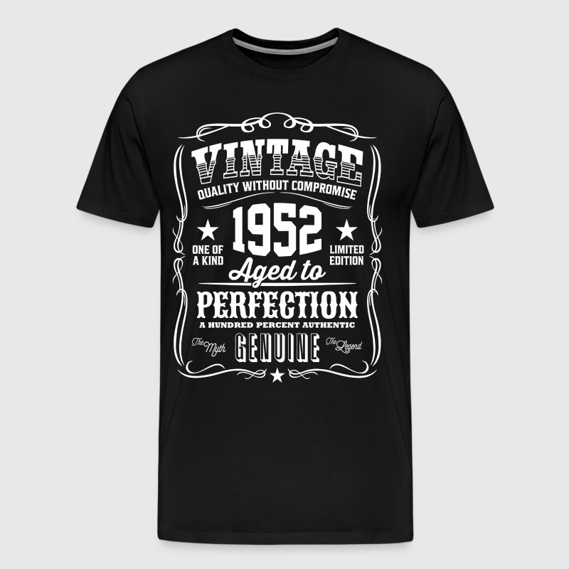 Vintage 1952 Aged to Perfection - Men's Premium T-Shirt