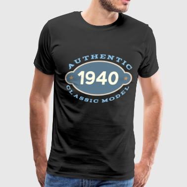 1940 Birth Year Birthday - Men's Premium T-Shirt