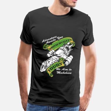 Browncoat Jayne Adventure awaits you Browncoat - Men's Premium T-Shirt