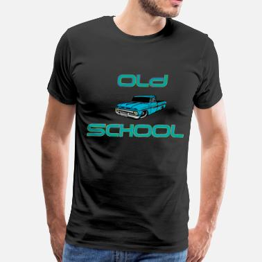 Old School Trucks old school - Men's Premium T-Shirt