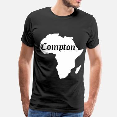 Compton Fashion Compton Is Africa, Kendrick Inspiration - Men's Premium T-Shirt