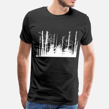 Trees Forest Forest Trees - Men's Premium T-Shirt