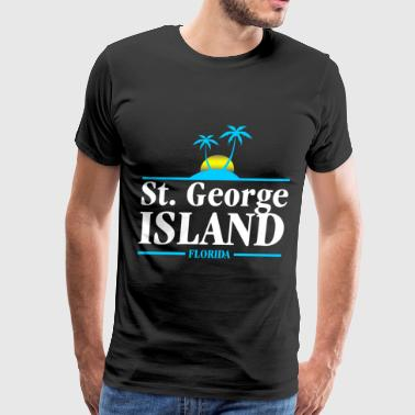 St. George Island - Men's Premium T-Shirt