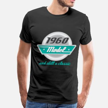 Birth Year 1960 1960 Birth Year Birthday classic - Men's Premium T-Shirt