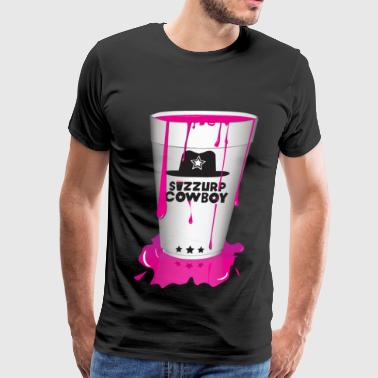 SIZZURP Cowboy - Men's Premium T-Shirt