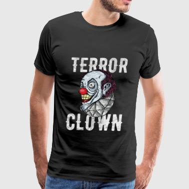 Halloween - Terror Clown - Men's Premium T-Shirt