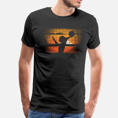Beach Volleyball Volleyball - Men's Premium T-Shirt
