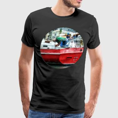 Making the Boat Shipshape - Men's Premium T-Shirt