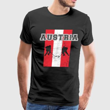 Place Of Residence Ice Hockey Austria - Men's Premium T-Shirt