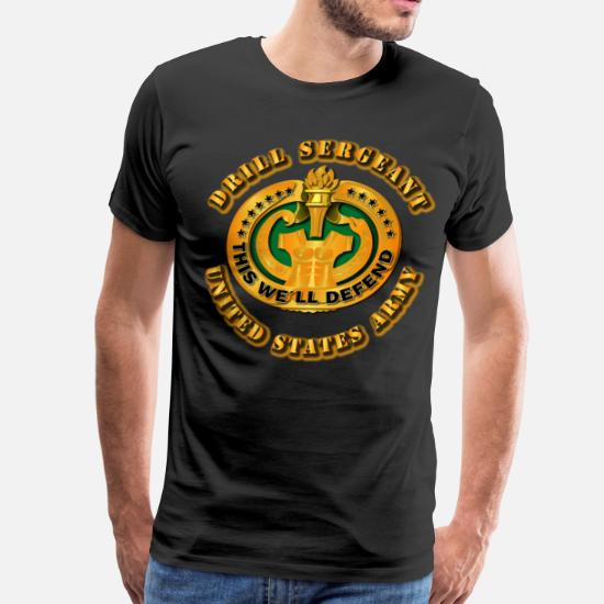 Army - Drill Sergeant Men's Premium T-Shirt | Spreadshirt