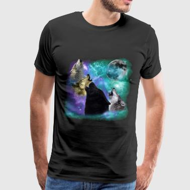Wolves Coven Emeral night - Men's Premium T-Shirt