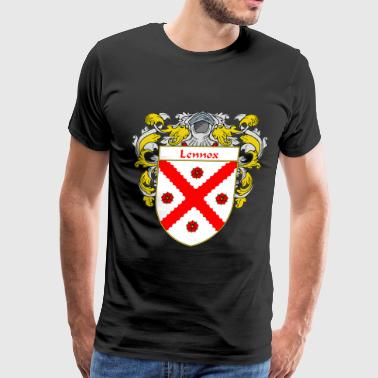 lennox_coat_of_arms_mantled - Men's Premium T-Shirt