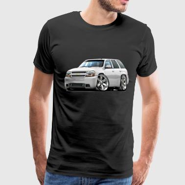 Chevy Trailblazer white truck - Men's Premium T-Shirt