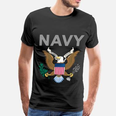 Navy Veteran NAvy 1 - Men's Premium T-Shirt
