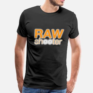 Photographer Raw Raw shooter photographer - Men's Premium T-Shirt