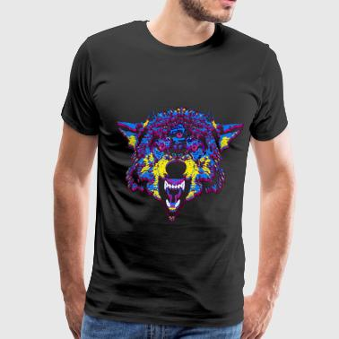 Timber Wolf WOLF - Men's Premium T-Shirt
